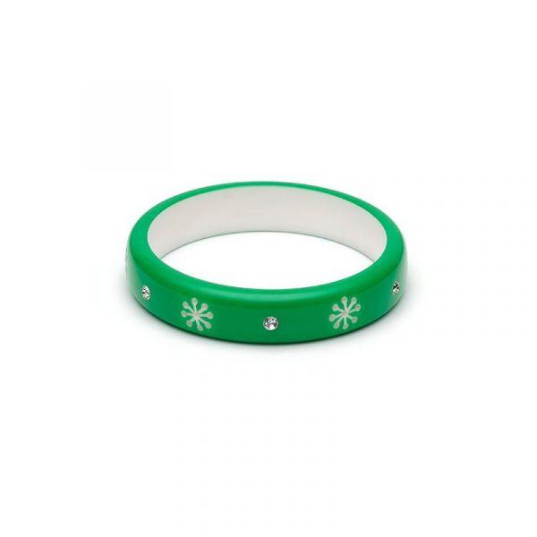 Bracelet, SPLENDETTE Garland Green Midi