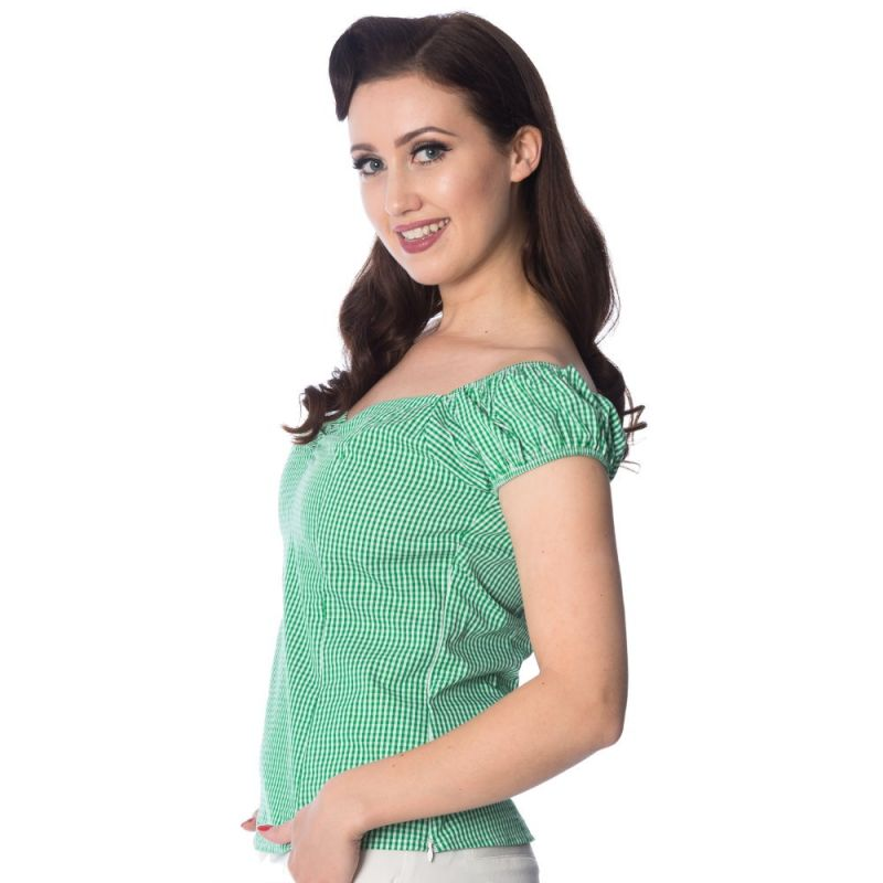 Paita, LOVING GINGHAM Green (1324)