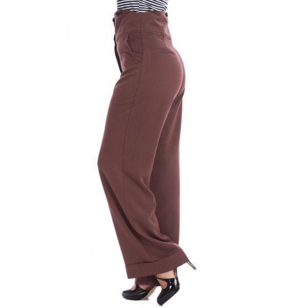 Trousers, GIRL BOSS Brown (31974)