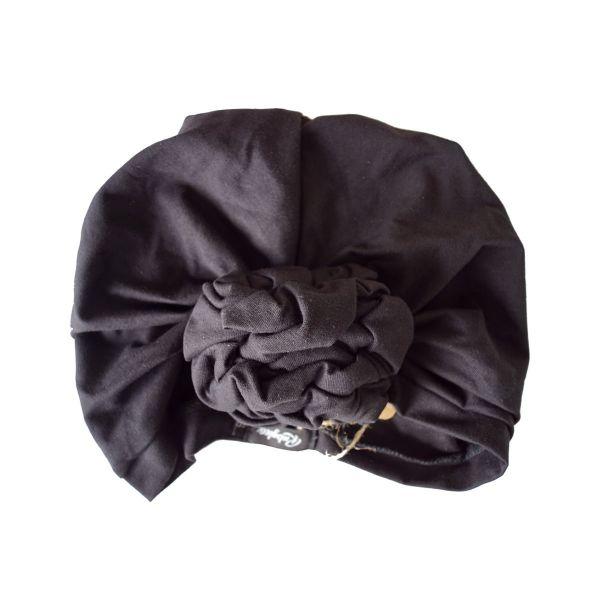 RUBYLEA Turban, JOAN Jersey Black
