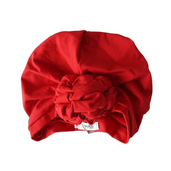 RUBYLEA Turban, JOAN Jersey Red