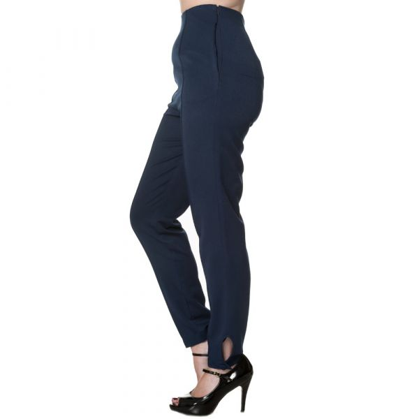 Housut, TEMPTING Highwaist Navy
