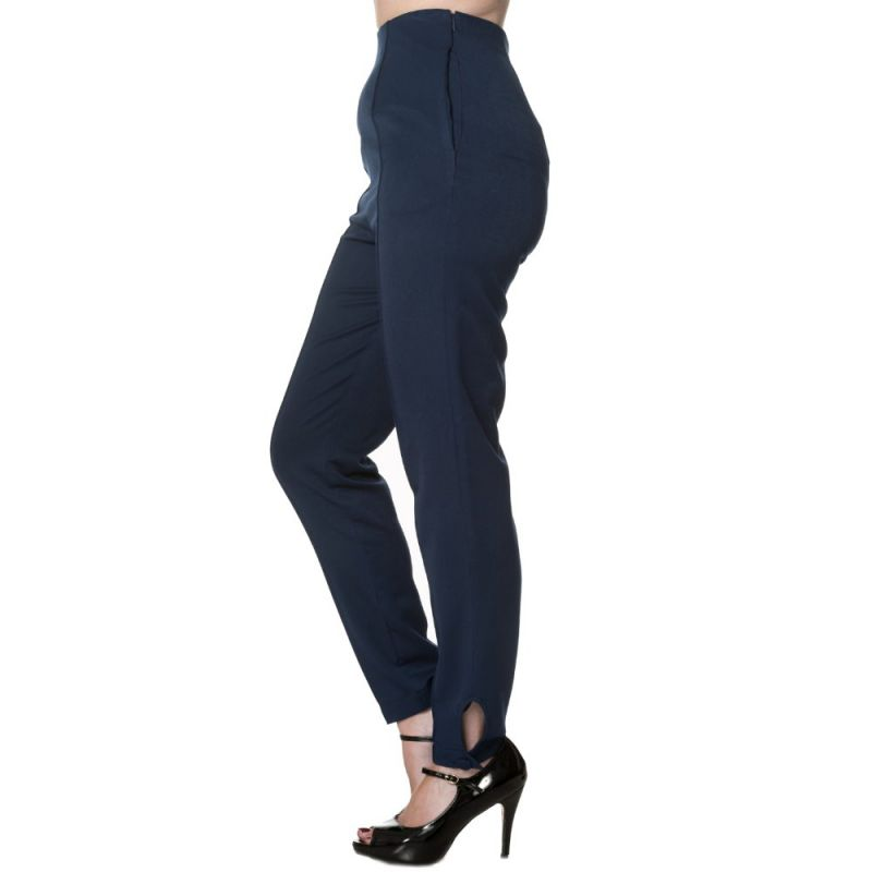 Trousers, TEMPTING Highwaist Navy