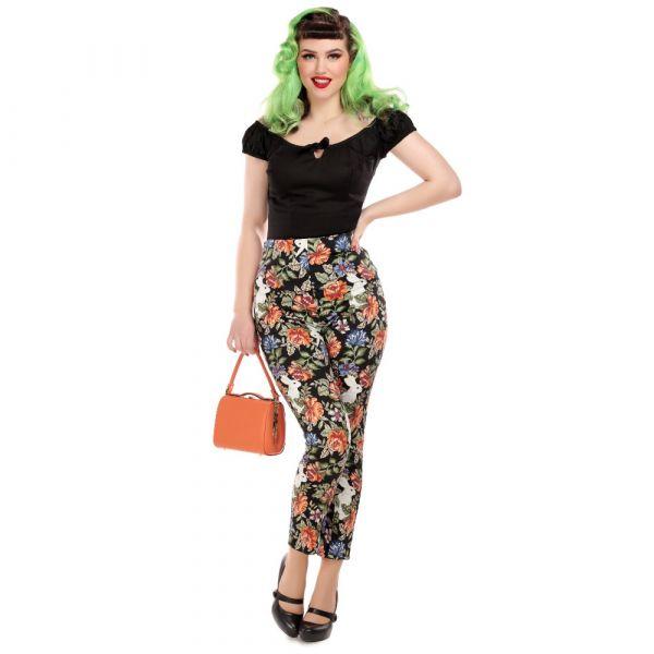 Trousers, BONNIE Forest Floral