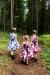 Lasten Kellomekko, HR Audrey 50s Floral (4087)