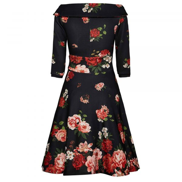 Swing Dress, DEBORAH Raising Rose (334-7)