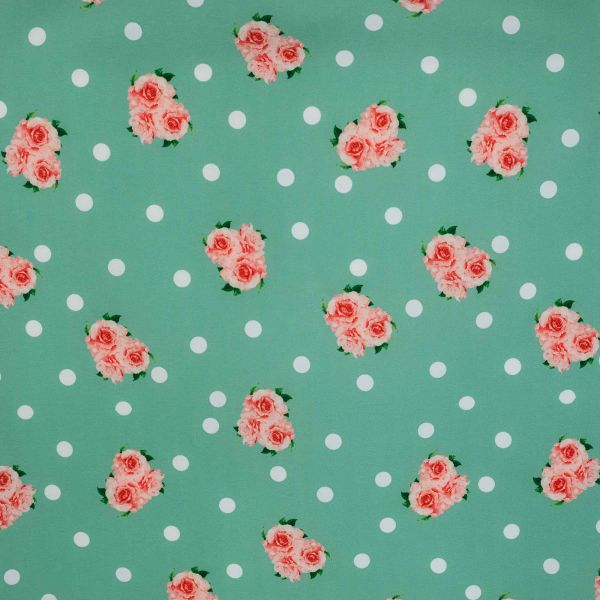 Dress, VIKTORIA Dots & Roses (855-1)