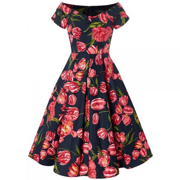 Swing Dress, LILY Tulip (873-4)