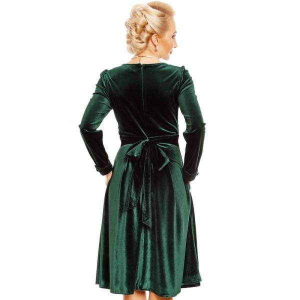Kellomekko, KATHERINE Velvet Green (V888)
