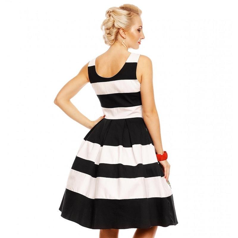 Swing Dress, ANNIE Stripe&Rose (905-15)
