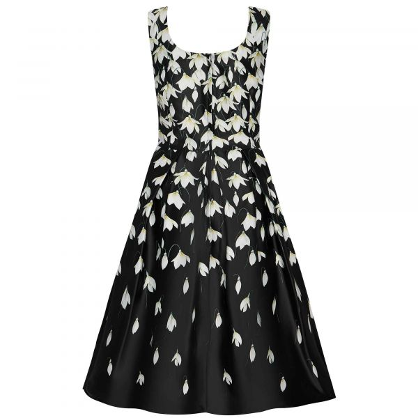 Swing Dress, AMANDA Falling Flowers (950-42)