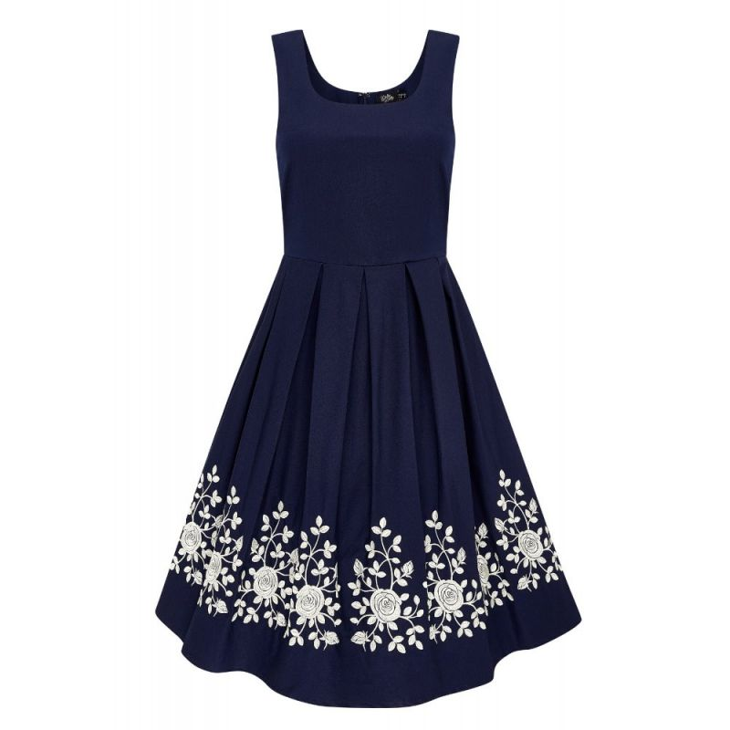 Swing Dress, AMANDA Embro (950-8)