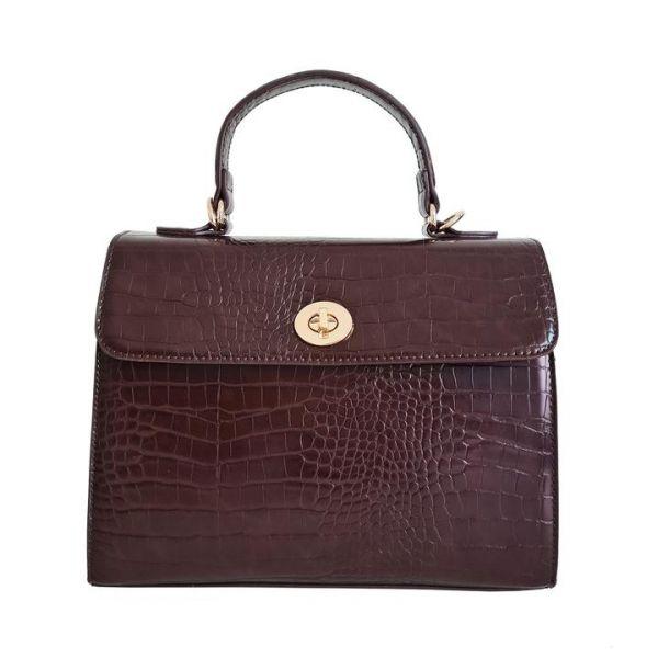 Handbag, CHARLIE STONE Versailles Versailles Espresso Brown