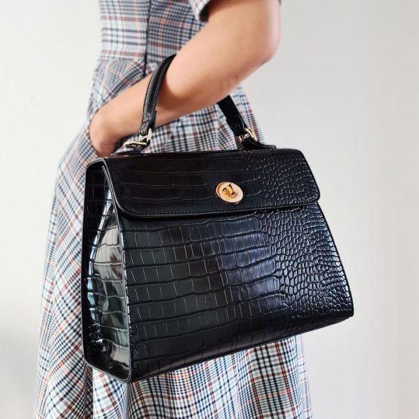 Handbag, CHARLIE STONE Versailles Noir