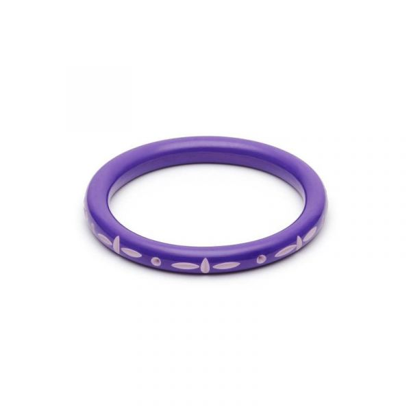 Bracelet, SPLENDETTE Violet Narrow