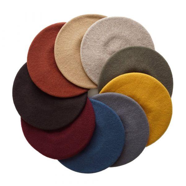 Beret Hat, GRETA Espresso Brown