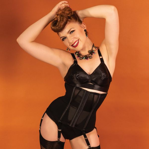 Waist Cincher, WHAT KATIE DID Glamour Black