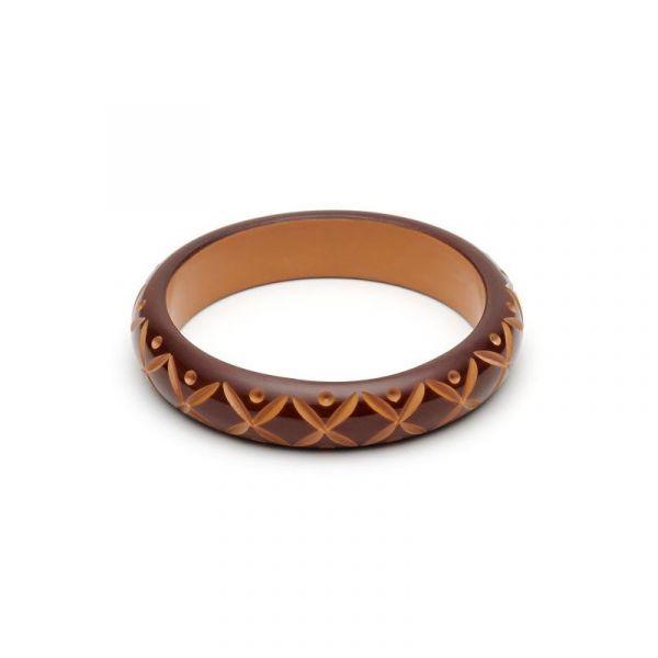 Bracelet, SPLENDETTE Walnut Midi