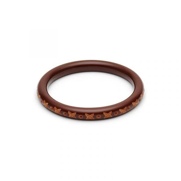 Bracelet, SPLENDETTE Walnut Narrow