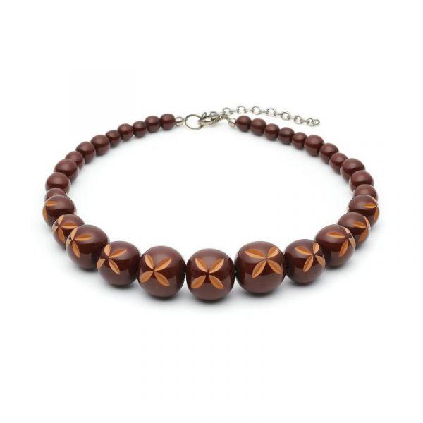 Necklace, SPLENDETTE Walnut