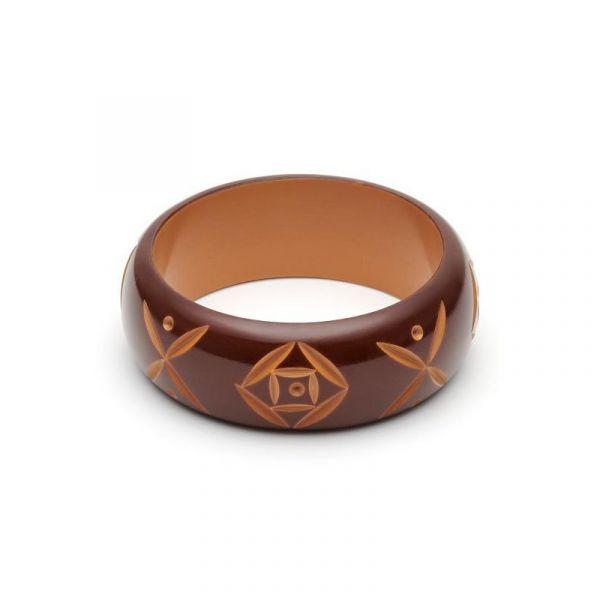 Bracelet, SPLENDETTE Walnut Wide